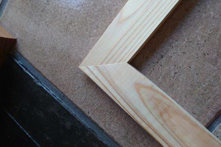 わくわく木枠製作の回♪ その1